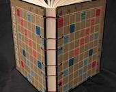Coptic Stitch 1976 Scrabble Foreign Edition Game Board Sketch Book -Russian