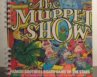 1979 Muppet Show Board Game Box Spiral Bound Notebook