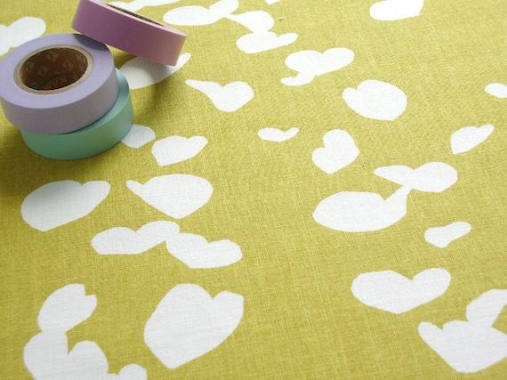 SALE - Fabric - Katsura in Mustard