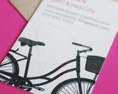 Vintage Bicycle Calling Cards - 100 cards