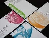 Bountiful Calling/ Business Cards - Assorted Designs in a Set of 100