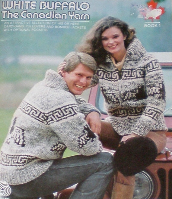Cowichan SWEATER Knitting pattern  THUNDERBIRD -Spirit of the EAGLE  from Raincoaststudio on Etsy