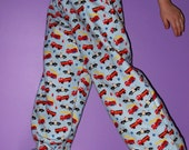 Emergency Vehicle Flannel Lounge Pants Size Small (size 6)