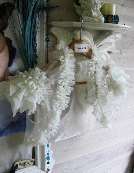 Ivory Fallen Angel Ruffled Bridal Bolero