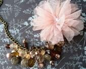 RESERVED Ballet Cluster Necklace