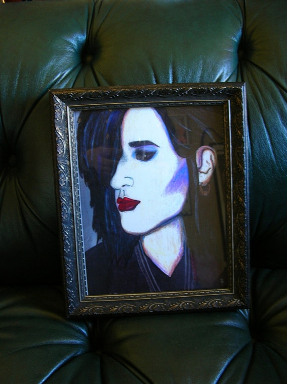 Rozz Williams framed 8...