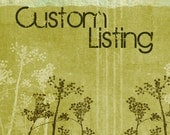 Custom Listing For Cubits
