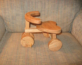 Wood Doll Tricycle