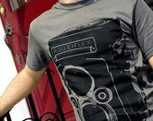 Giant Rolleiflex Screen Print T Shirt