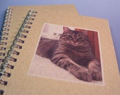 Your Photo Here - Personalized Spiral Notebook - Recycled Paper