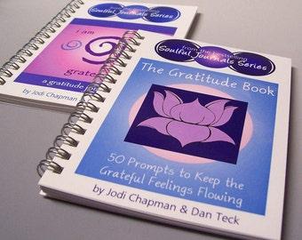 Gratitude Journal Gift Set - I Am Grateful For and The Gratitude Book