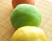 Olive Oil Dough, Citrus Colors, Eczema friendly, Non-Toxic, VEGAN