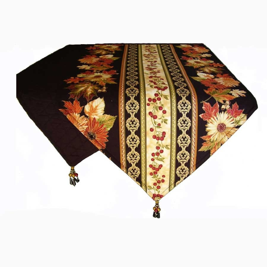 Autumn Table Runners Fall Table Runner Thanksgiving Table