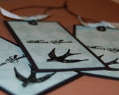 Mon Amie - set of 3 tags
