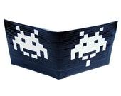 Space invaders style duct tape wallet V2