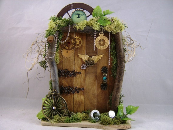 Steampunk Fairy Door