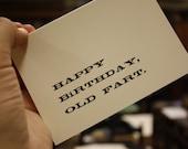 Old Codger's Birthday Card II