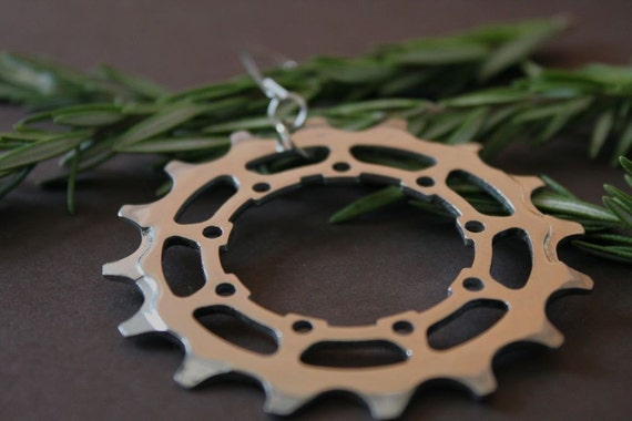 holiday ornament - bicycle gear