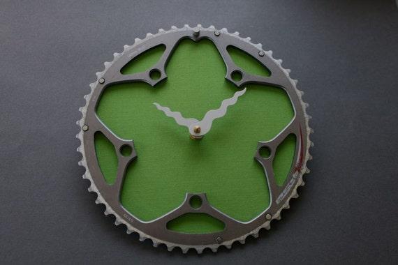 bicycle clock- FSA  grass green