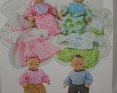 Simplicity 1937 15 Inch Baby Doll Clothes Pattern Great for 15 in dolls Doll New Uncut