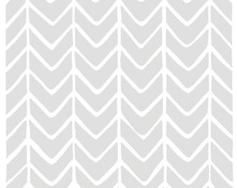 Zig Zag, Grey Print