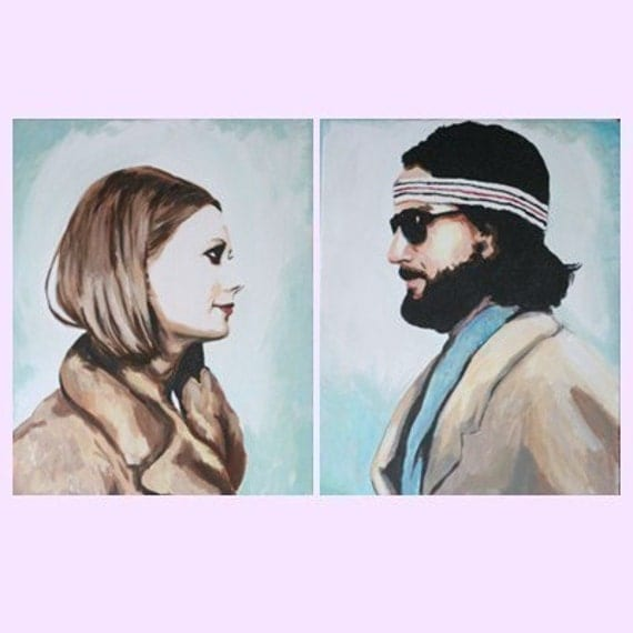 Margot and Richie Tenenbaum The Royal Couple by luckyjackson