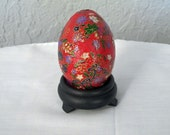 Japanese Red Easter Egg