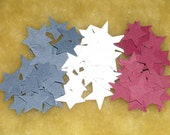 Country Red, White and Blue Star paper embellishment