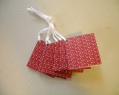 Folded Glitter Gift Tag - Perfect for Christmas