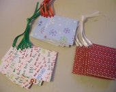 Folded Glitter Gift Tag Set - Qty 15
