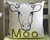 Moo pillow