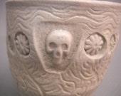 Skull cup woodkiln