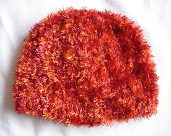 Phoenix Boa and Terra Cotta Designer Sport Knit Hat
