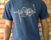 Crankset T Shirt-Blue