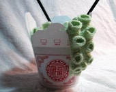 Take Out Tentacle Scarf in Soft Green