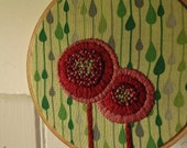Spring Showers Embroidery