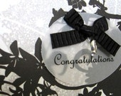 Wedding Ring Card (Black and White)