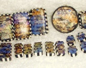 24 beautiful large lot of OOAK polymer clay beads ZNE and PCAGOE