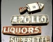 Apollo Neon Sign 5x5 Fine Art Photo