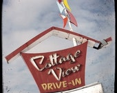 Cottage View Drive-In 5x5 Fine Art Photo