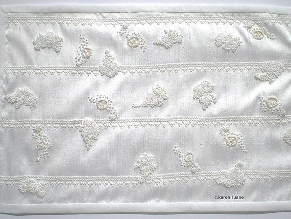 Beautiful Silk Embroidered Panel