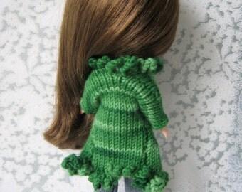 Blythe Emerald Retro Coat