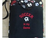 Soccer Design Tote  - FREE SHIPPING