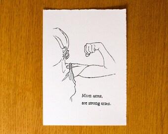 Mom Arms - Print Gocco