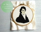 Mr Darcy pattern cross stitch
