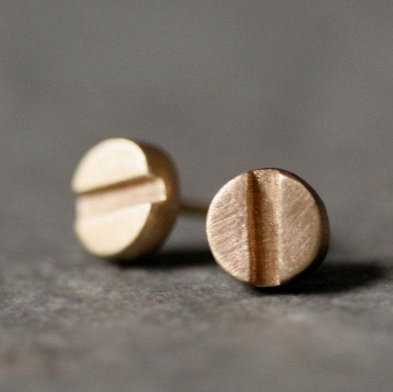 Cartier Earrings Studs Screw Head Stud Earrings in