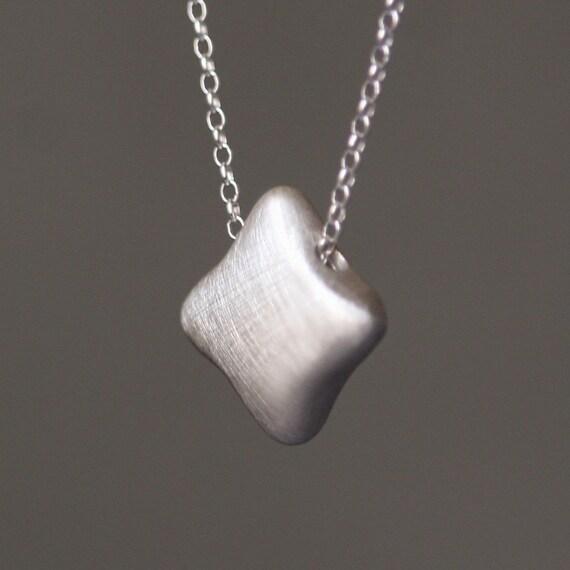 Quatrefoil Necklace in Sterling Silver