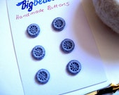 Reserved Custom Order    Dorset Buttons  Dorset Button Buttons (Dorset ) Handmade -  Set of 6 - Custom You  Choose the Color