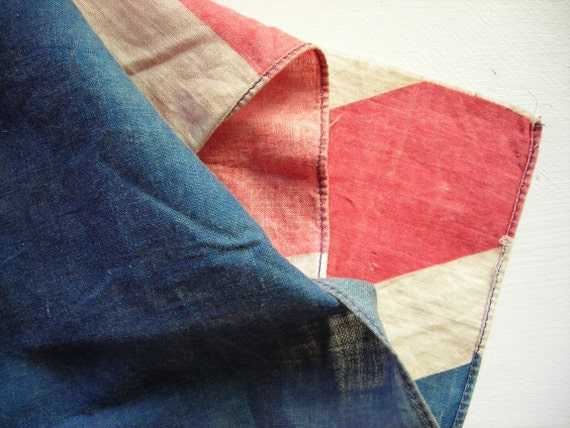 Vintage Union Jack Flag Vintage Flag British Flag Cotton