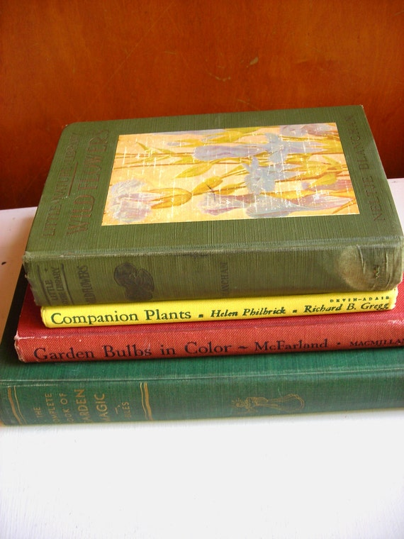 Gardening Book Collection : Antique Nature Library